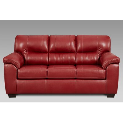 Gardner Sleeper Sofa Upholstery: Austin Red