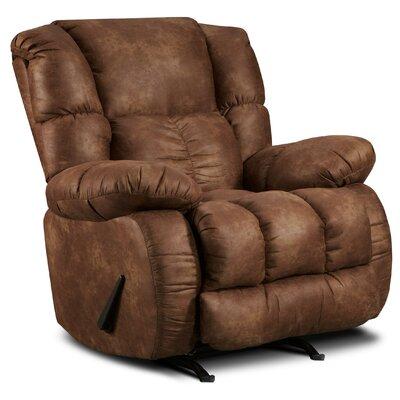Jaxon Recliner Upholstery: Padre Espresso