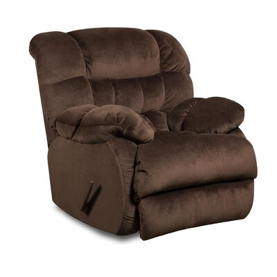 Laguna Recliner Reclining Type: Manual, Upholstery: Sharpei Chocolate