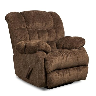 Laguna Recliner Reclining Type: Manual, Upholstery: Columbia Mushroom
