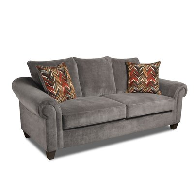 Edgar Sofa Upholstery: Dynasty Charcoal