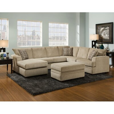 Robbins Modular Sectional Upholstery: Cornell Platinum