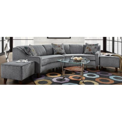 Chelsea Home 476450-SEC-JP Caroline Sectional