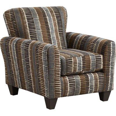 Conann Armchair Upholstery: Brown/Gray