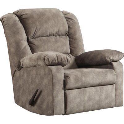 Riley Manual Recliner Upholstery: Cody Gray