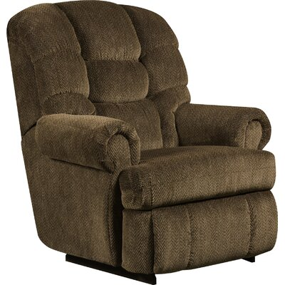 Philip Manual Recliner Reclining Type: Power, Upholstery: Gazette Basil