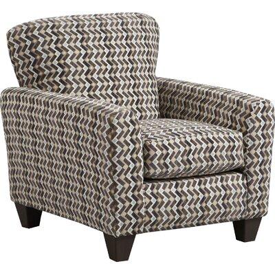 Conann Armchair Upholstery: Brown/Blue