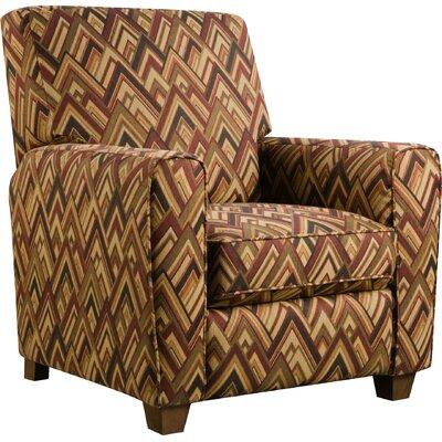 Barras Manual Recliner Upholstery: Boomerang Sunset