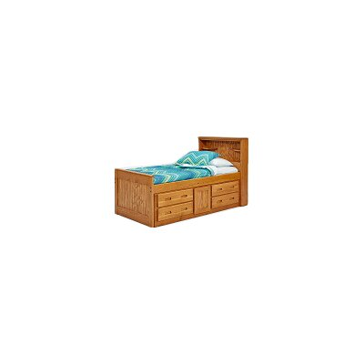 Captain Bed with Under Storage Size: Twin