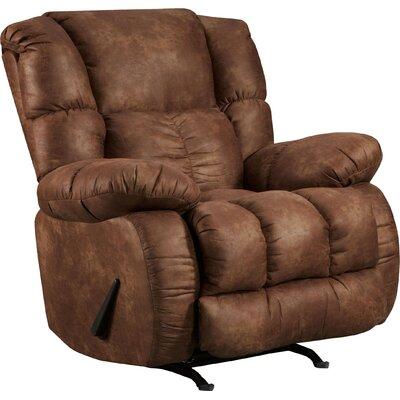 Jaxon Manual Recliner Upholstery: Padre Espresso