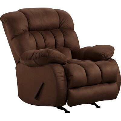 Milo Rocker Recliner Upholstery: Softsuede Fudge