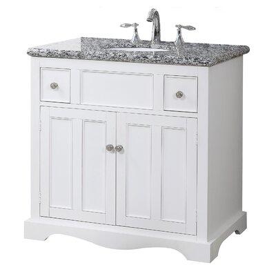 Sawyer 35 Single Bathroom Vanity Set with Mirror
