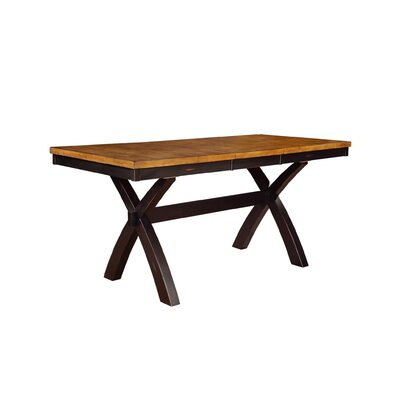 Vail Dining Table Finish: Pecan & Almond