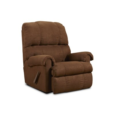 Grace Chaise Recliner Upholstery: Chocolate