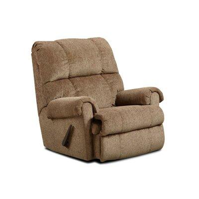 Grace Handle Chaise Rocker Recliner Upholstery: Tahoe Bark