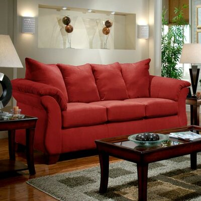 Armstrong Sofa Upholstery: Sensations Red Brick