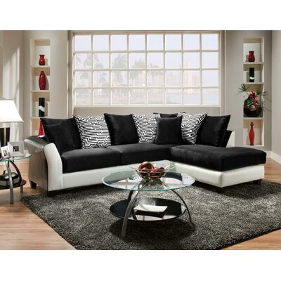 Chelsea Home 424174-02-SEC Lambda Sectional