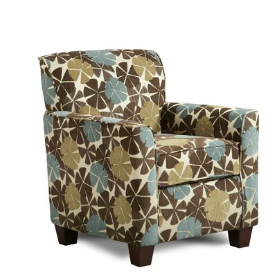 Genna Chair Upholstery: Viola Chocolate