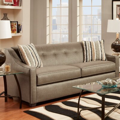 Brittany Sofa Upholstery: Stoked Pewter