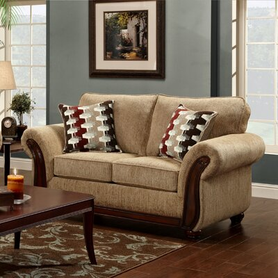 Courtney Sofa Upholstery: Delray Fudge