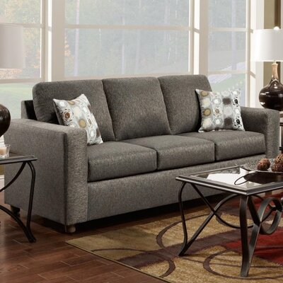 Talbot Sofa Upholstery: Vivid Onyx
