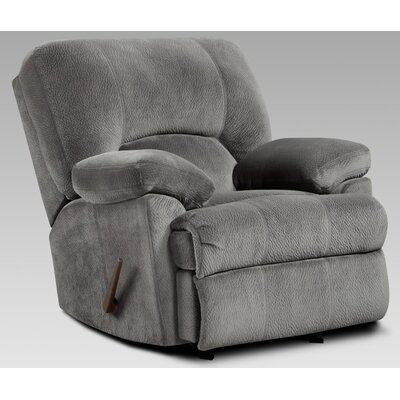 Chelsea Home Baltimore Chaise Rocker Recliner - Color: Cumulus Charcoal at Sears.com