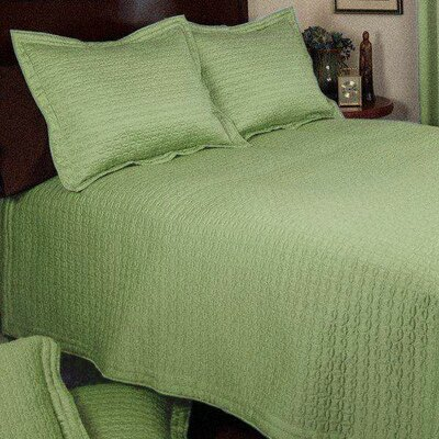 Ancient Coin 3 Piece Quilt Set Size: Full/Queen, Color: Wasabi