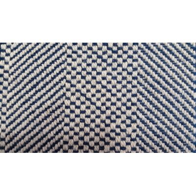 Savannah Cotton Throw Color: Atlantic Blue