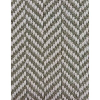 Belfast Herringbone Throw Blanket Color: Bayleaf