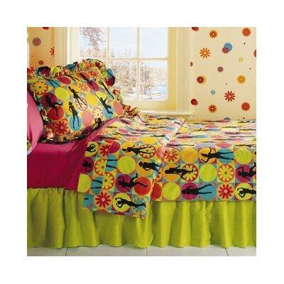 Flower Power 3 Piece Twin Comforter Set