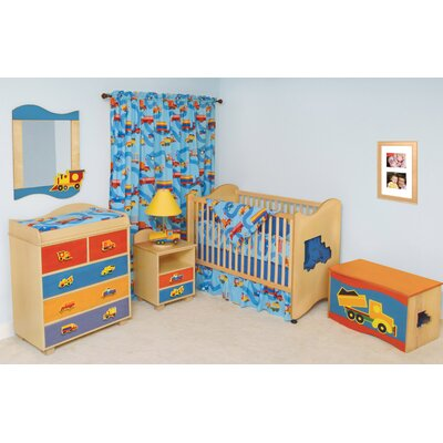Boys Bedroom Bedding on Boys Like Trucks Nursery Bedroom Bedding Set   Rm122 Bt