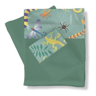 Little Lizards Sheets / Pillowcase Set Size: Twin