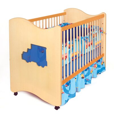 Boys Like Trucks 3-in-1 Convertible Crib Finish: Chocolate RM22-BTD