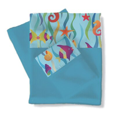 Tropical Seas Sheets / Pillowcase Set Size: Full