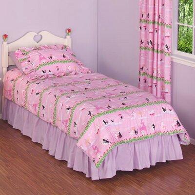 Poodles 4 Piece Comforter Set Size: Twin