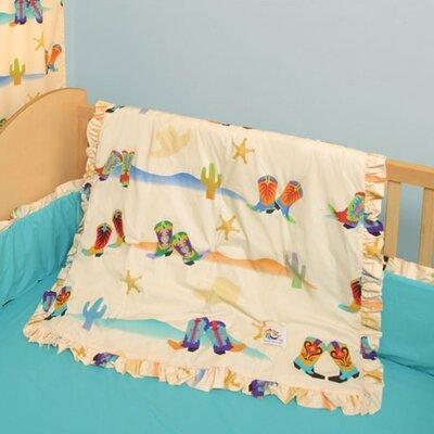 Cowboy 4 Piece Crib Bedding Set