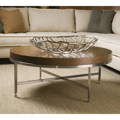 Galleria Coffee Table Color: Latte on Birch