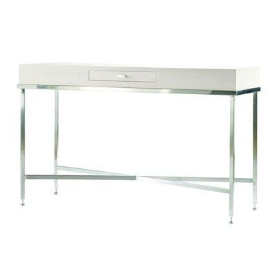 Galleria Console Table Finish: White on Ash