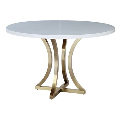 Iris Dining Table Finish Chalk White
