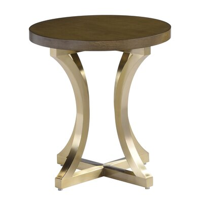 Iris End Table Color: Gray Cherry