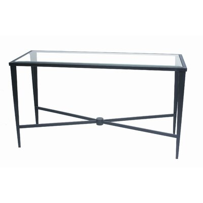 Allan Copley Designs 210303G Belmont Glass Top Console Table
