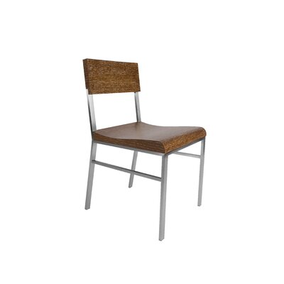 Force Solid Wood Dining Chair Finish: White Limed Cognac
