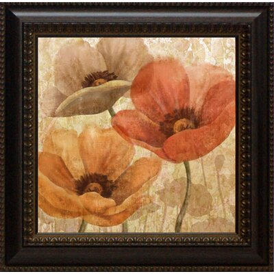 Poppy Allure I by Conrad Knutsen Framed Painting Print
