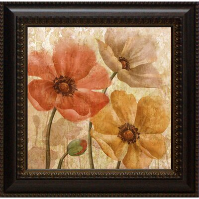 Poppy Allure Framed Painting Print