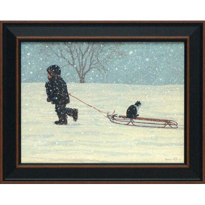 All Aboard by Bonnie Mohr Framed Painting Print P449