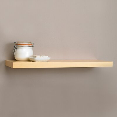 "InPlace Shelving Square Edge Floating Shelf - Size: 1.25"" H x 35.4"" W x 8"" D at Sears.com"