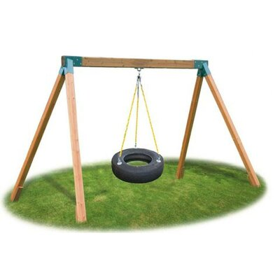 Eastern Jungle Gym Classic Cedar Tire Swing Set at Sears.com
