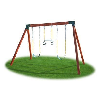 Eastern Jungle Gym Classic Cedar Swing Set at Sears.com