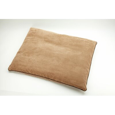 """Pillow Lounge Dog and Cat Pillow Size: Small (33"""" L x 25"""" W), Color: Toast"""