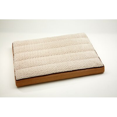 "Top Comfort Lounge Dog Pillow Color: Toast / Tapioca, Size: Medium (40"" L x 30"" W)"